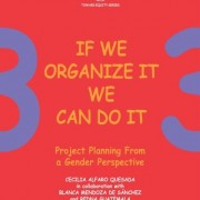 Toward Equity Series: Vol. 3. If we organize it we can do it: Project planning from a gender perspective