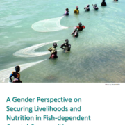 A Gender Perspective on Securing Livelihoods and Nutrition in Fish-Dependent Coastal Communities
