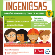 "Apply now! ""Ingenious Women"" Energy Contest in Latin America"