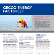 AGENT (GECCO) Energy Factsheet