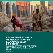 Haiti Climate Change Gender Action Plan (ccGAP) Report