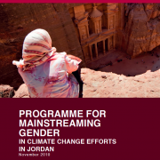 Jordan Climate Change Gender Action Plan (ccGAP) Report