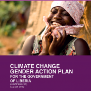 Liberia Climate Change Gender Action Plan (ccGAP) Report