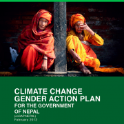 Nepal Climate Change Gender Action Plan (ccGAP) Report