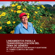 Cuba Climate Change Gender Action Plan (ccGAP) Report