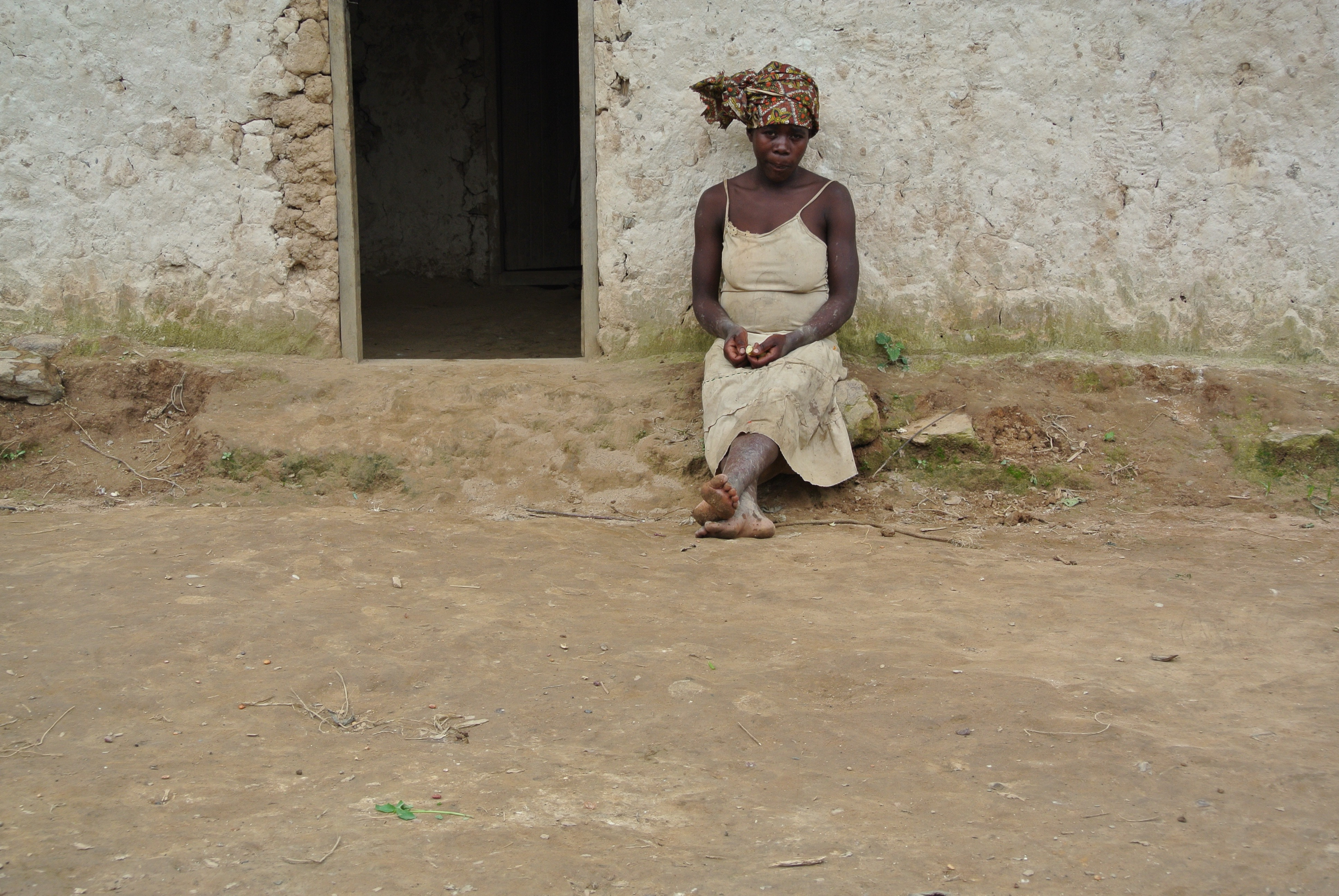 Woman from forest community, Uganda