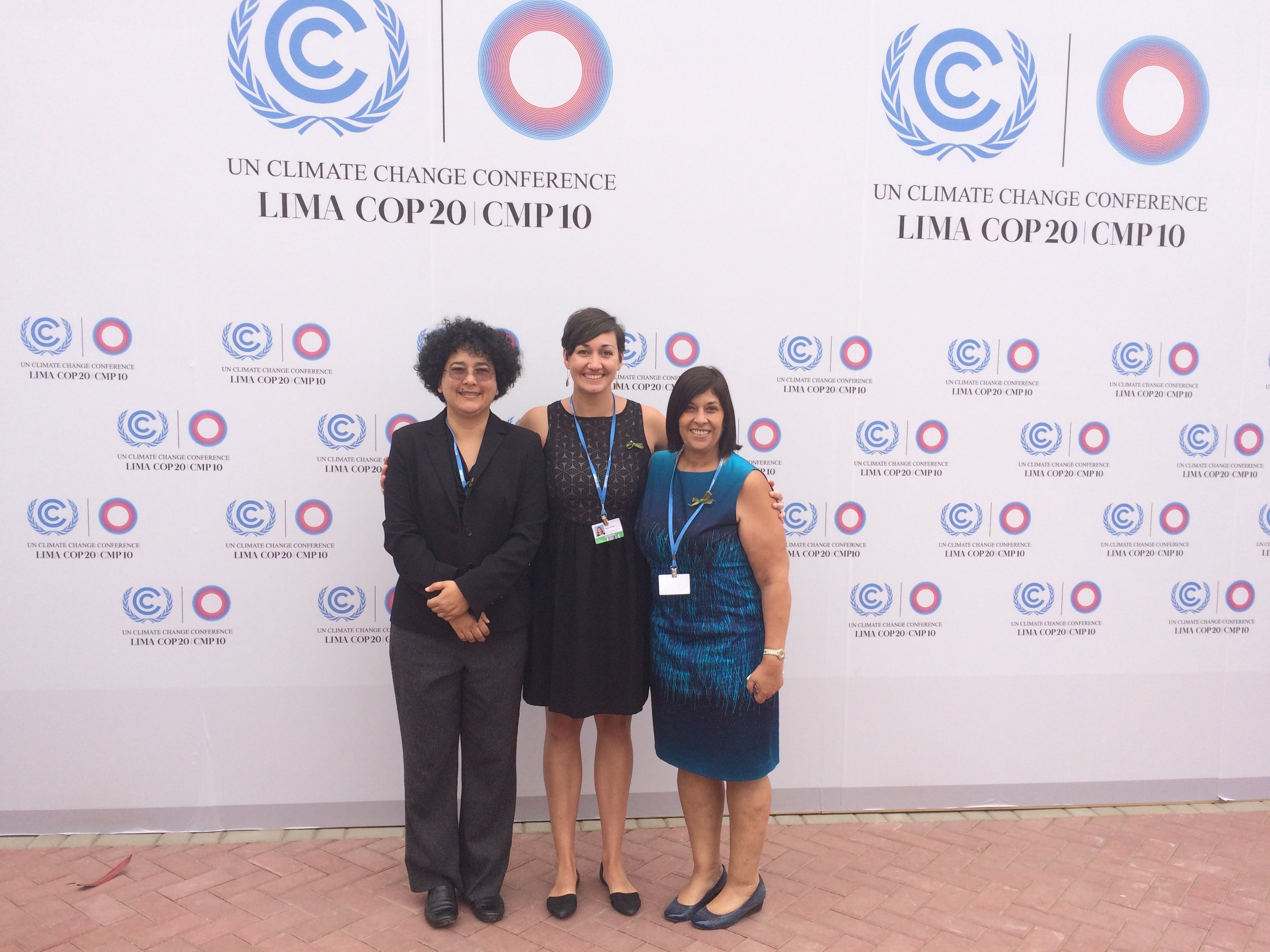 IUCN GGO team members participate at UNFCC COP20 in Lima.