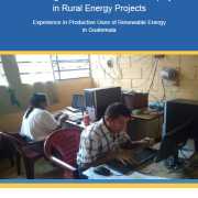 Creating Conditions for Gender Equity in Rural Energy Projects: Experience in Productive Uses of Renewable Energy in Guatemala