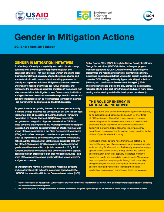 Mitigation Brief April 2016 Edition