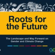 Roots for the Future: The Landscape and Way Forward on Gender and Climate Change