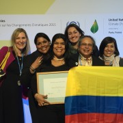 The power of women: combating blizzards, droughts and the changing climate