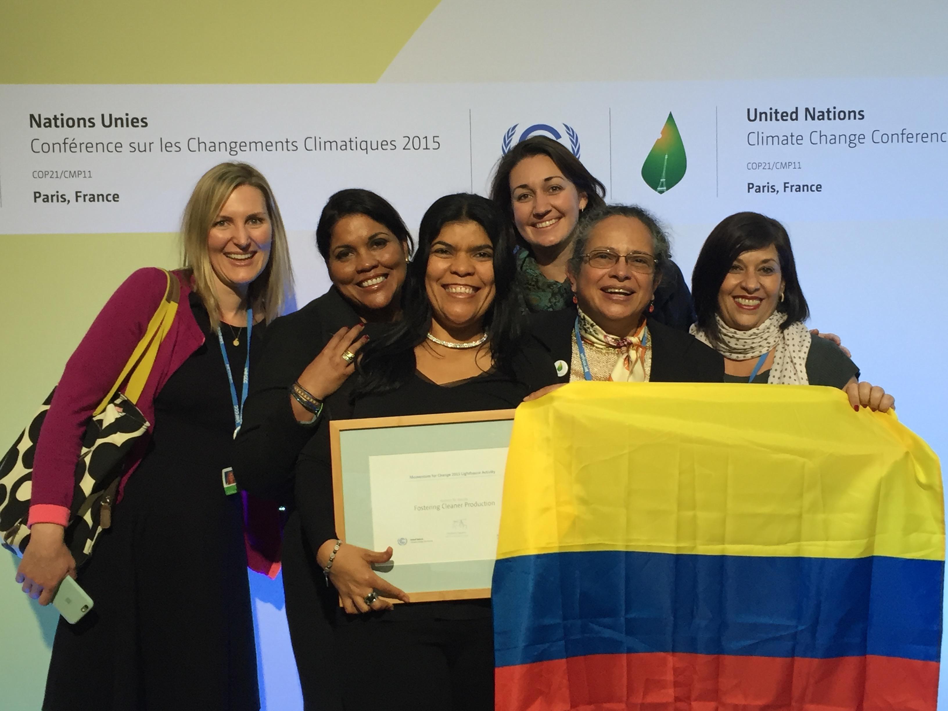GGO team participates in COP21