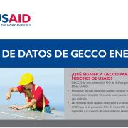 Hoja de Datos de GECCO Energía