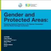 Gender and Protected Areas: Exploring National Reporting to the Ramsar Convention and the World Heritage Convention