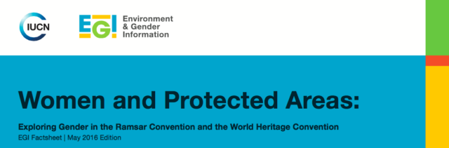 Women and Protected Areas Factsheet