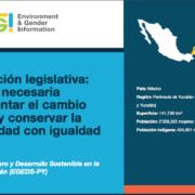 Armonización legislativa: condición necesaria para enfrentar el cambio climático y conservar la biodiversidad con igualdad de género