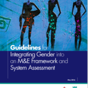 Guidelines for Integrating Gender into an M&E Framework and System Assessment