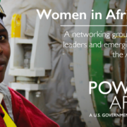 WiAP Webinar: Increasing Connections – An Introduction to Power Africa's Toolbox