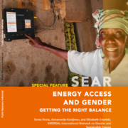 Energy Access and Gender: Getting the Right Balance