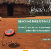 Reaching the last-mile: Women's social and sustainable energy entrepreneurship
