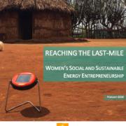 Reaching the last-mile: Women's social and sustainable energy entrepreneurship