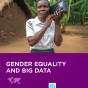 Gender equality and big data