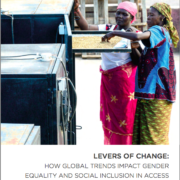 Levers of Change: How Global Trends Impact Gender Equality and Social Inclusion in Access to Sustainable Energy