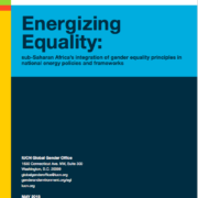 Energizing Equality in the African Energy Sector