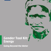Gender Tool Kit: Energy Going Beyond the Meter