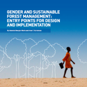 Gender and sustainable forest management: Entry points for design and implementation