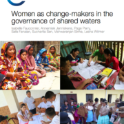 Women as change-makers in the governance of shared waters