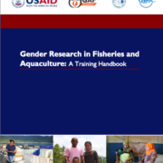 Gender Research in Fisheries and Aquaculture: A Training Handbook