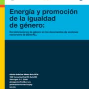 Energía y promoción de la igualdad de género: Consideraciones de género en los documentos de acciones nacionales de SEforALL