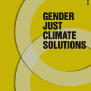 Gender Just Climate Solutions 2018