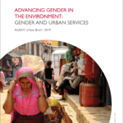 Advancing Gender in the Environment: Gender and Urban Services