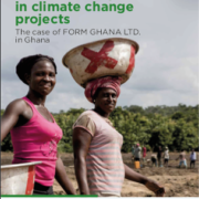 Gender mainstreaming in climate change projects – The case of FORM GHANA LTD. in Ghana