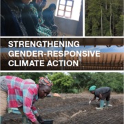 Strengthening Gender-Responsive Climate Action